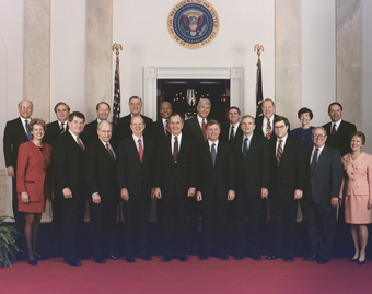 Bush and cabinet
