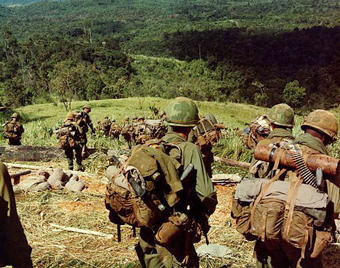 Troops in Vietnam