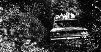 The Ford station wagon of three missing civil rights workers