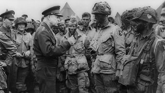 D-Day with Eisenhower