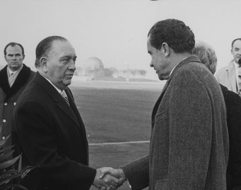 Richard Daley with Richard Nixon