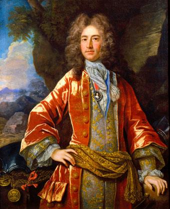 Painting of Daniel Parke