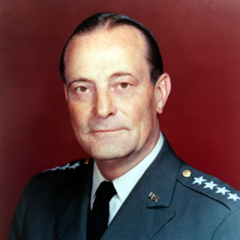 US Army General Earle G. Wheeler