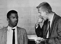 Freedom Riders John Lewis injury
