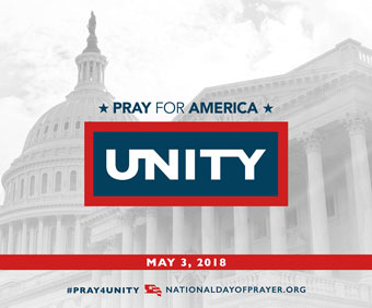 National Day of Prayer Logo, 2018