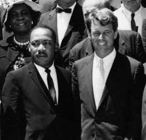 Martin Luther King Jr. and Robert Kennedy