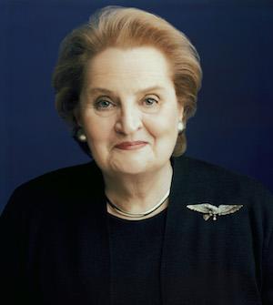 761cc3bf4e810d Madeleine K. Albright Oral History