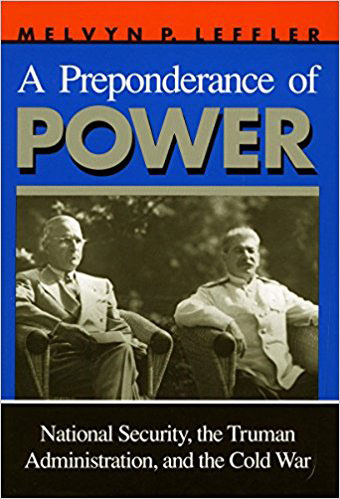 "Cover of ""A Preponderance of Power"""