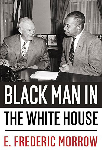 "Cover of book ""Black Man in the White House"""
