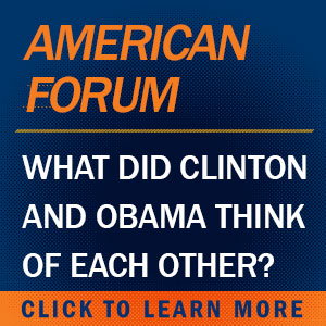 What did Clinton and Obama think of each other?