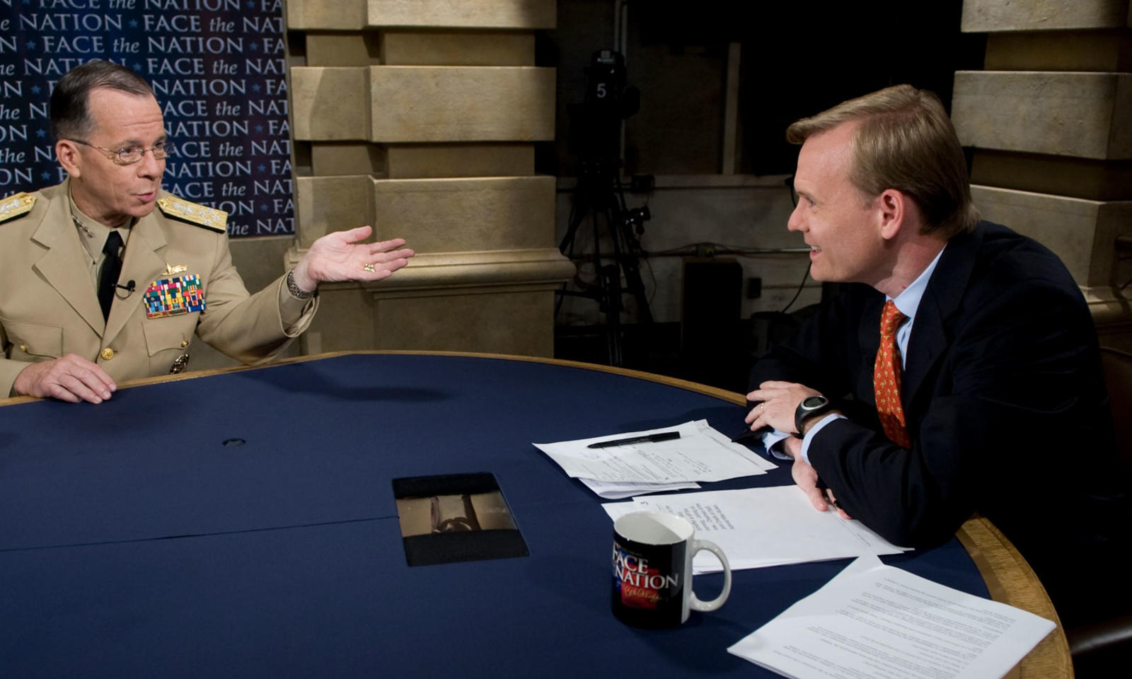 John Dickerson interviews chairman of Joint Chiefs of Staff