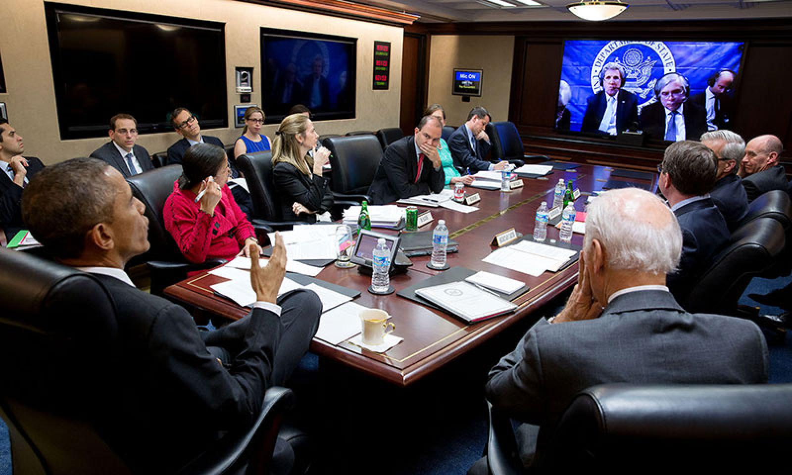 Situation room negotiations