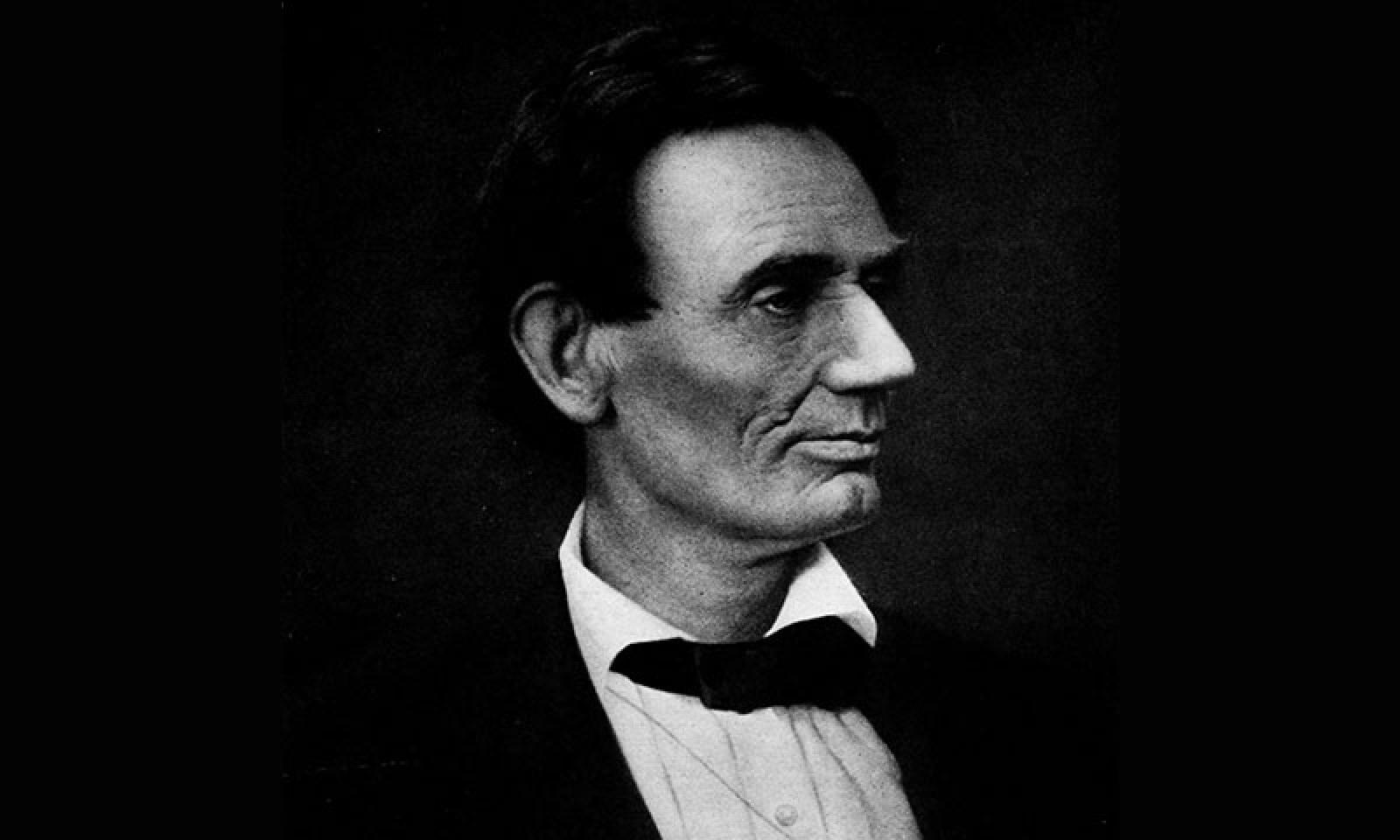 Headshot of Abraham Lincoln