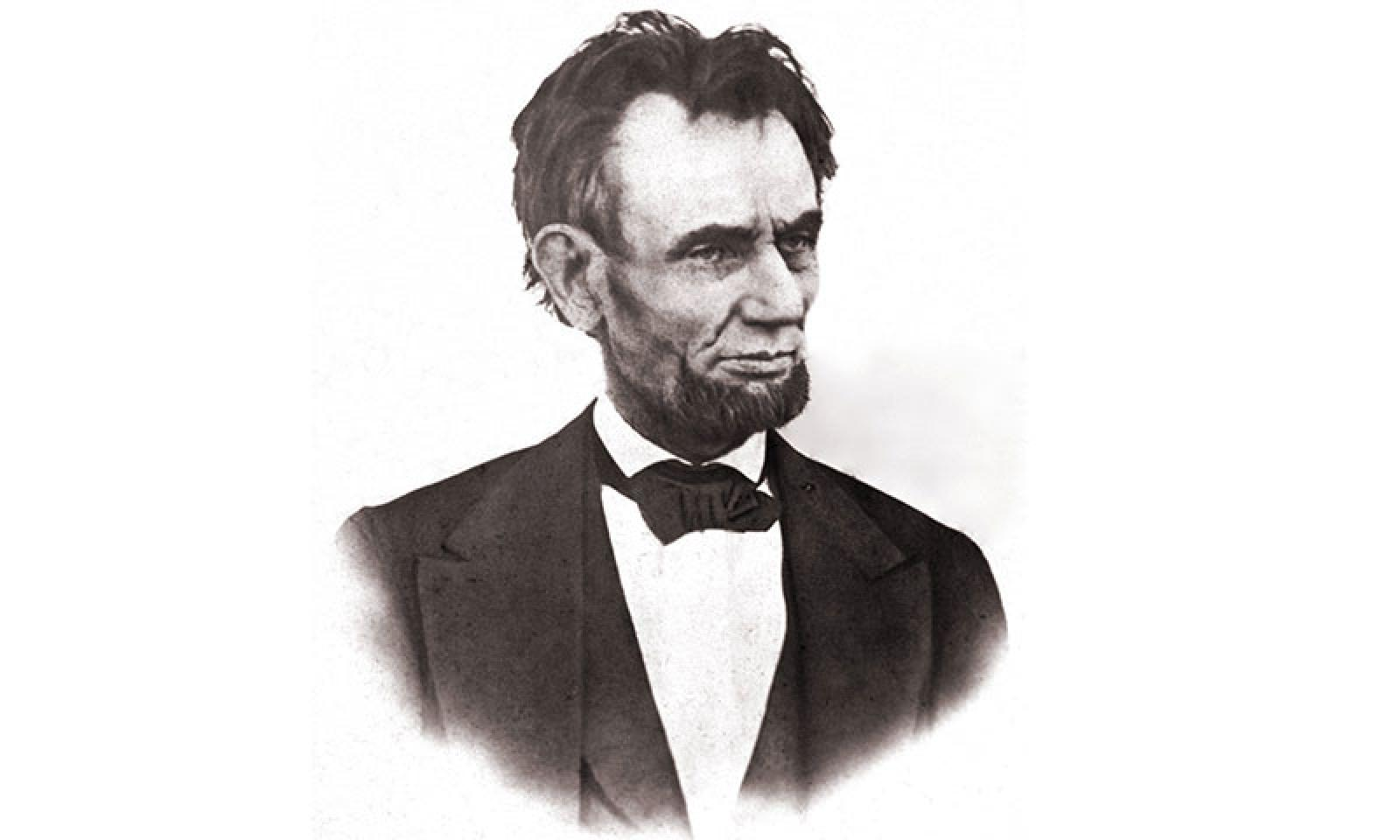 Last photograph of Lincoln