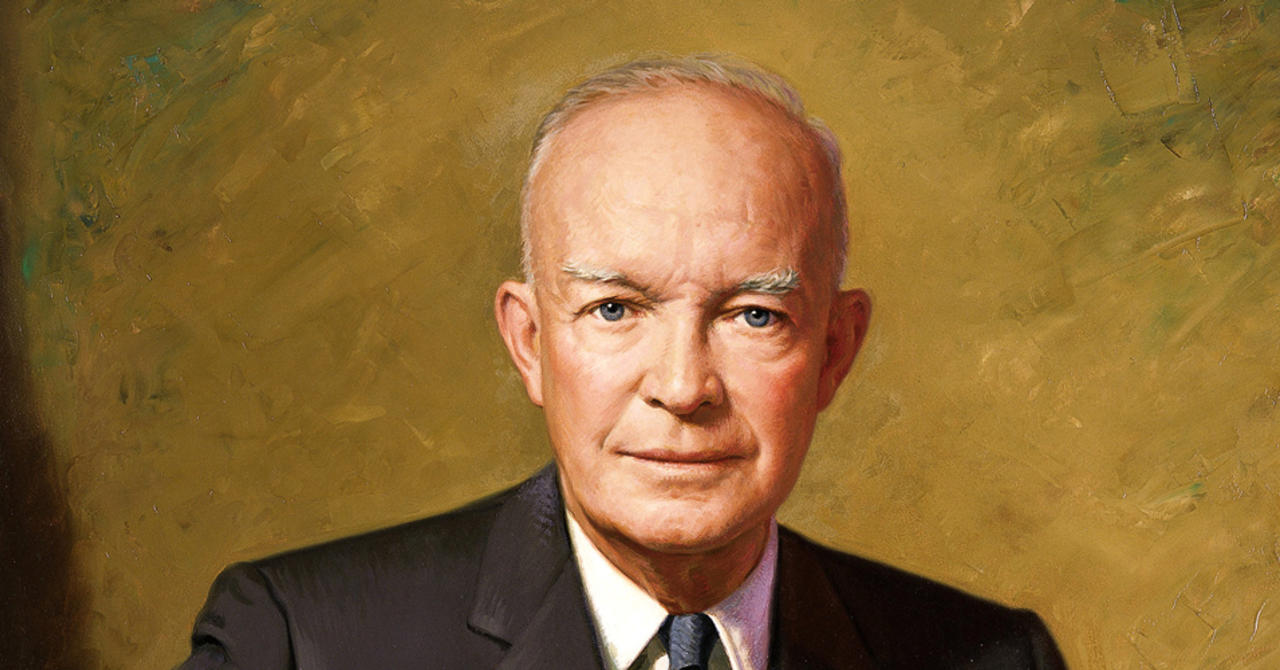 """an analysis of the dwight eisenhowers presidential mandate The presidential biographies on whitehousegov are from """"the presidents of the united learn more about dwight d eisenhower 's spouse, mamie geneva doud."""