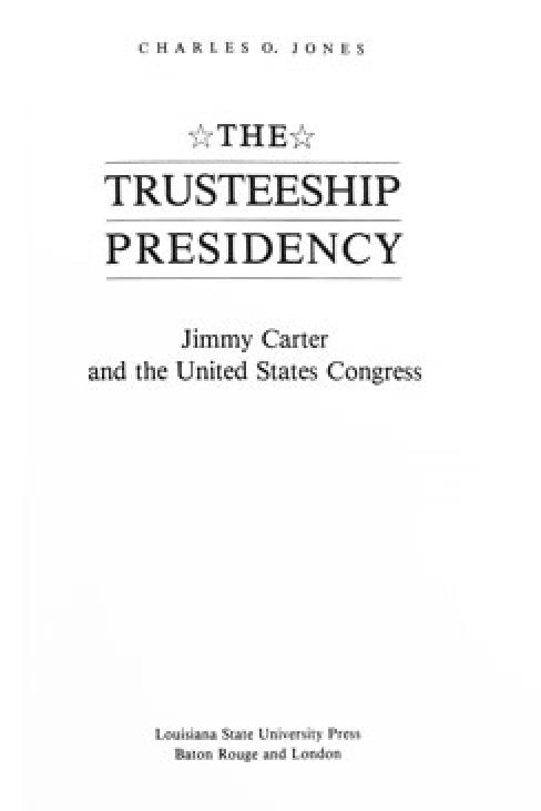The Trusteeship Presidency