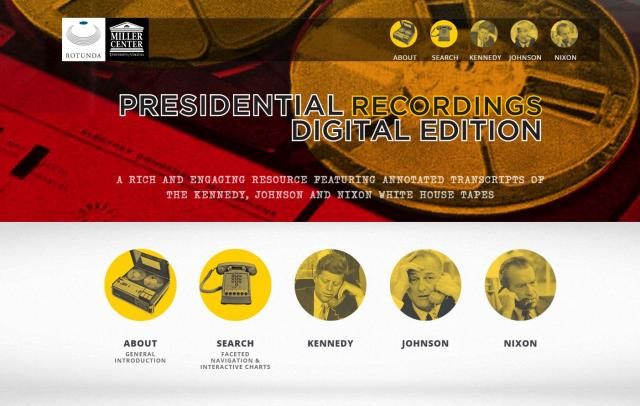 The Presidential Recordings Digital Edition