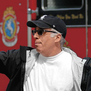Joe Chappelle directing Chicago Fire TV show