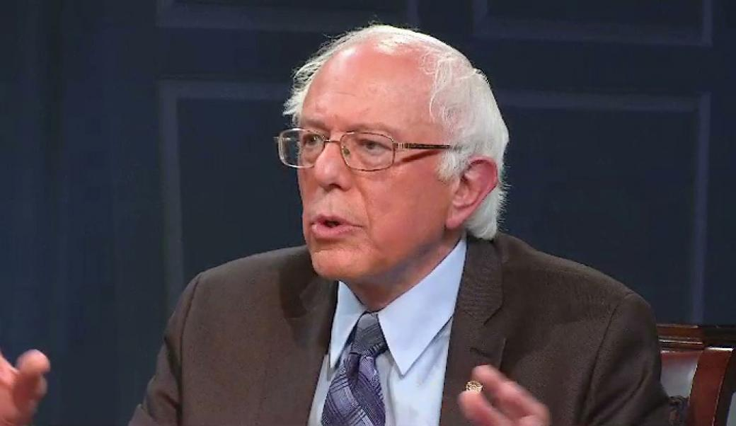 Senator Bernie Sanders discusses his run for the 2016 Democratic presidential nomination and political trends in the country