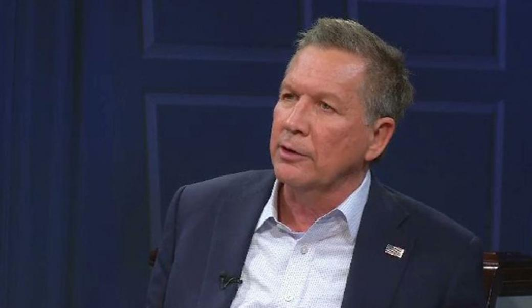John Kasich, the 69th and current Governor of Ohio, who seeks the Republican nomination for President of the United States in the 2016 election