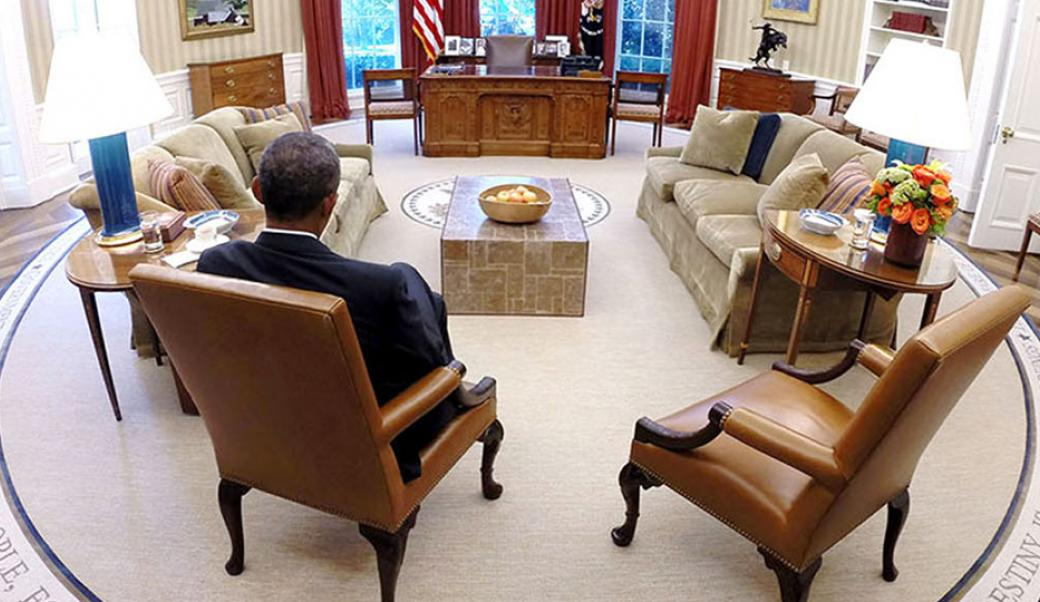 Obama oval office