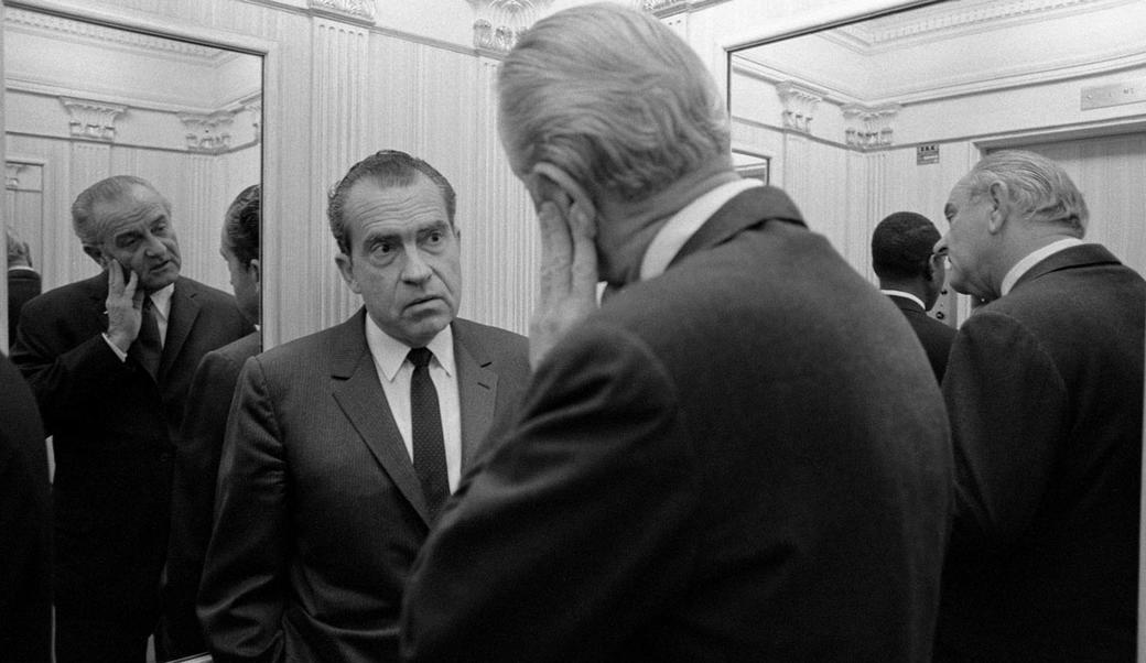 Nixon and Johnson