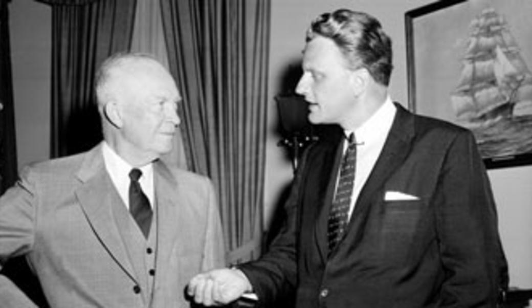 Graham and Eisenhower