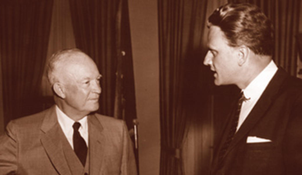 Eisenhower and Billy Graham