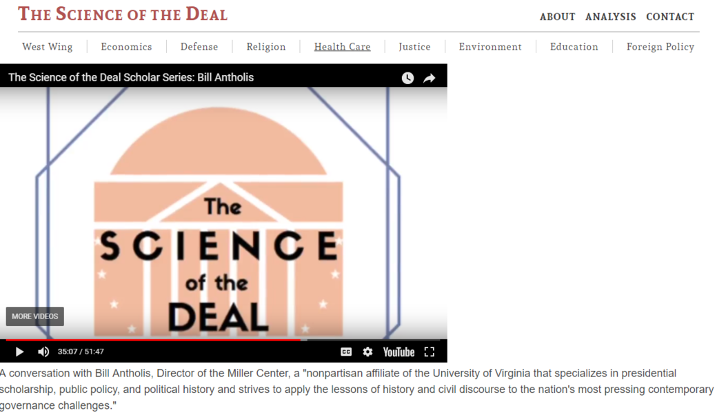 Science of the Deal