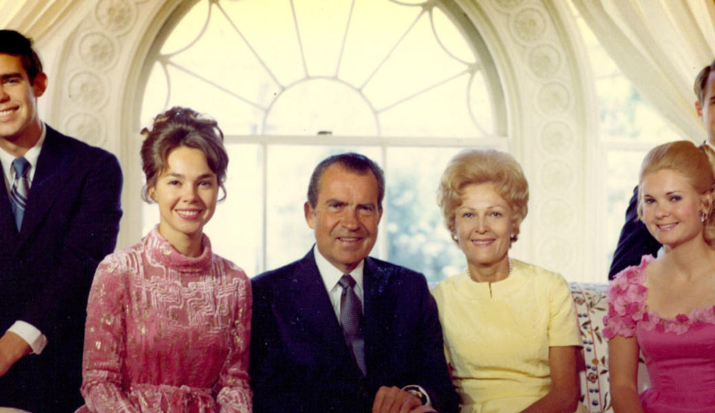 Nixon family portrait
