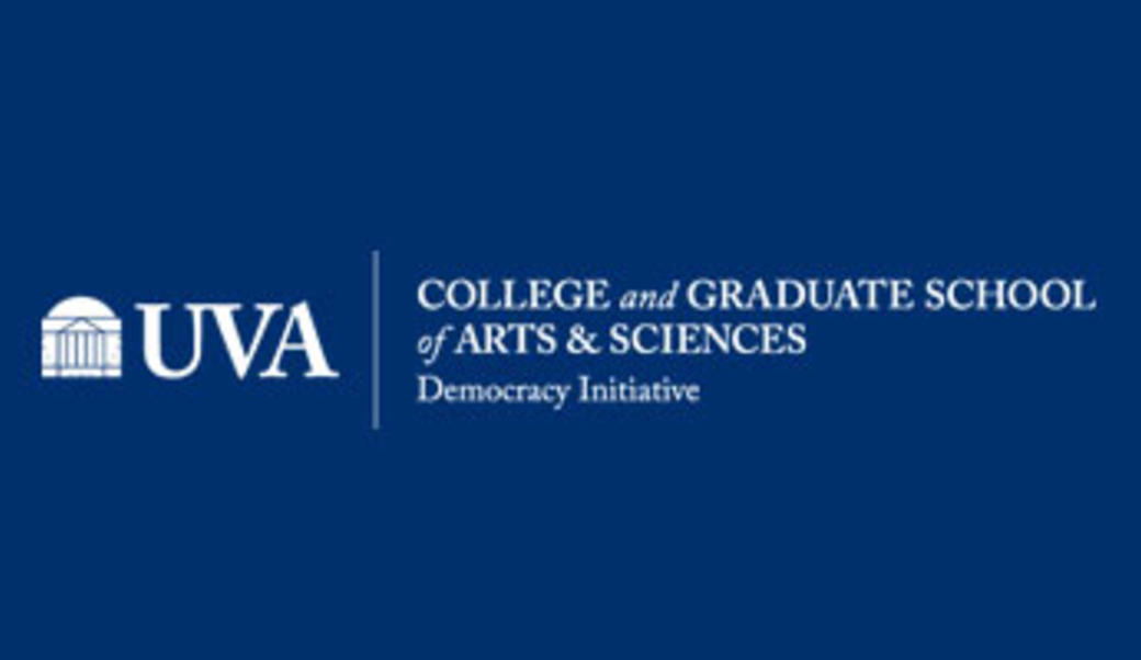 UVA College of Arts & Sciences logo with Democracy Initiative text
