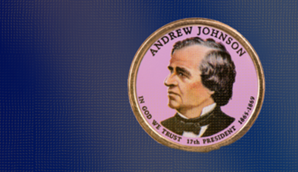 Andrew Johnson commemorative coin