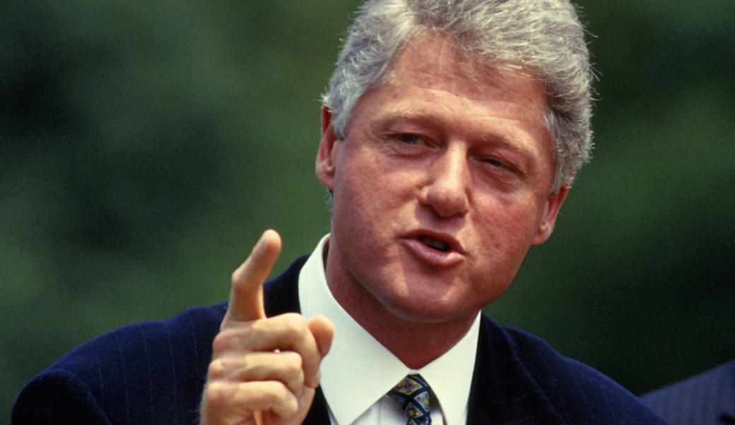 Bill Clinton in 1993