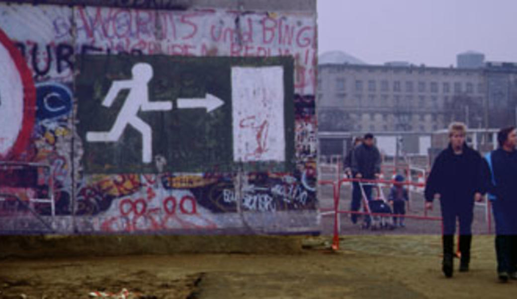Shortly after the fall of the Berlin Wall in November 1989