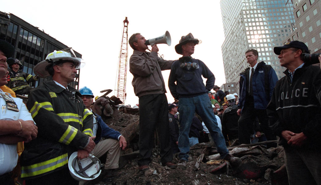 Bush at Ground Zero