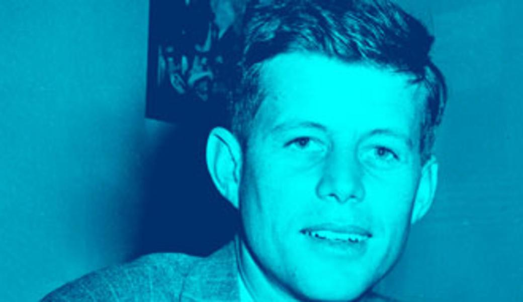 Young John F. Kennedy