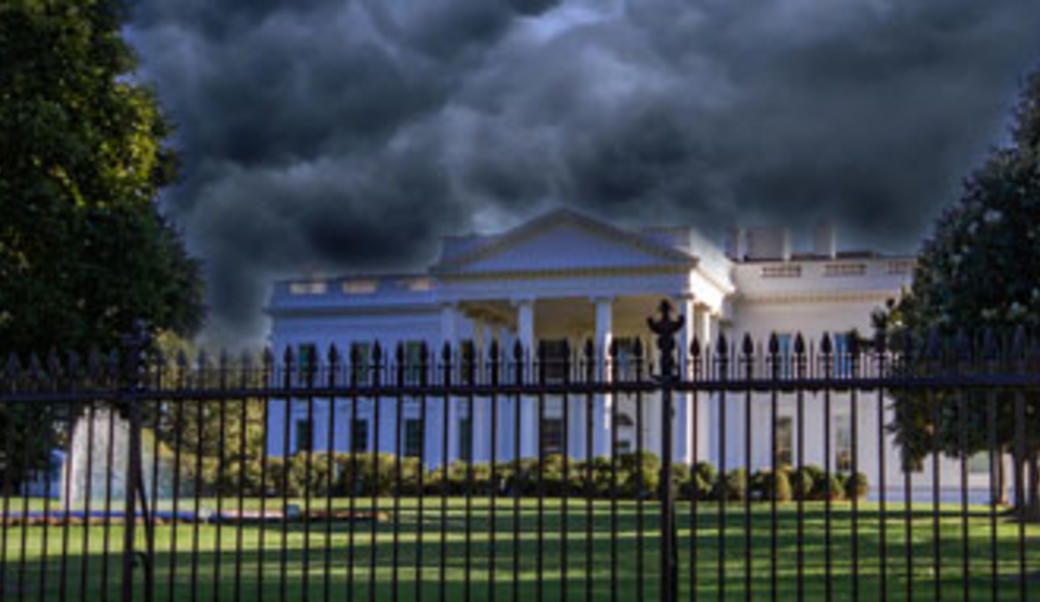 storm over the White House