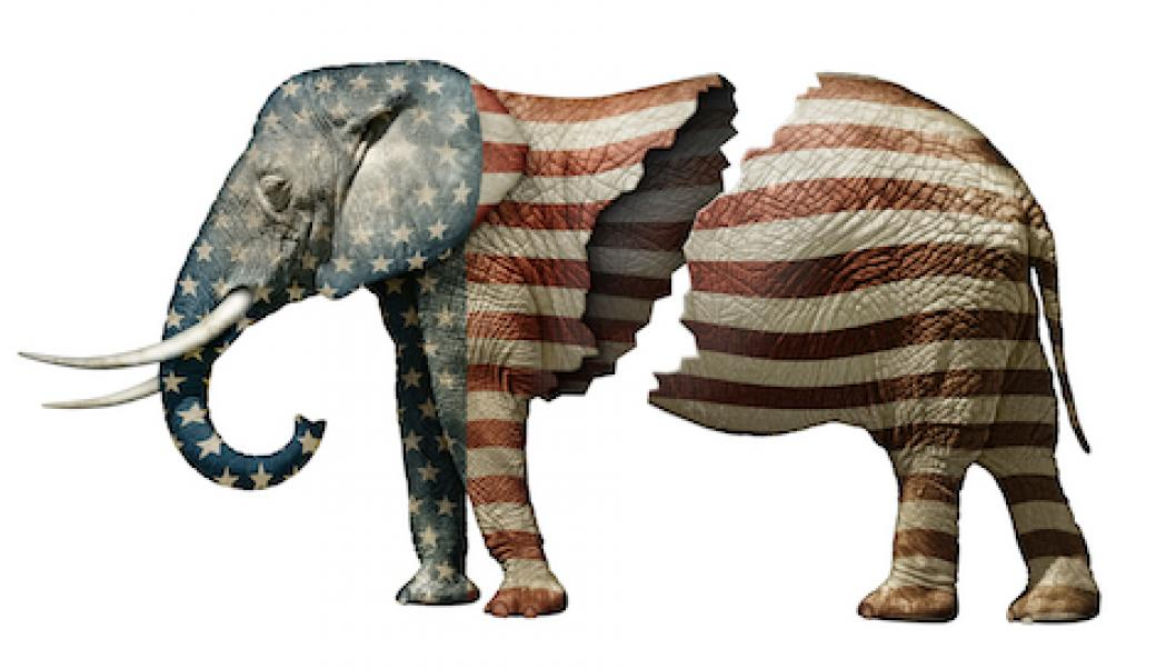 republican elephant split