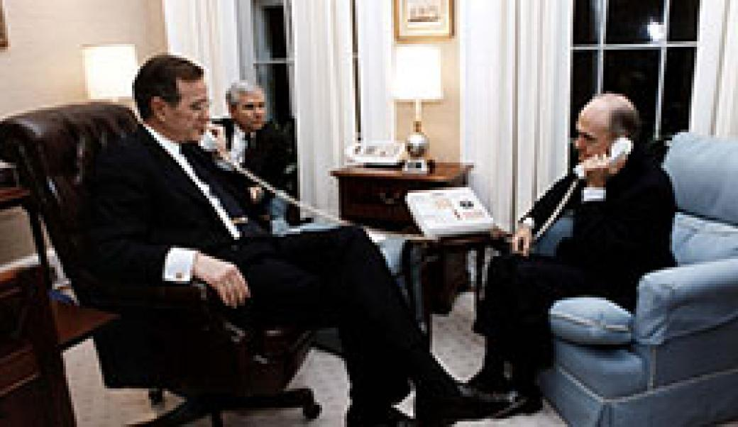 Bush and Scowcroft