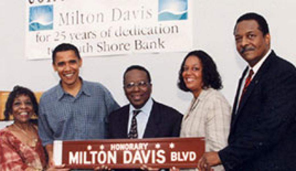 Barack Obama with others