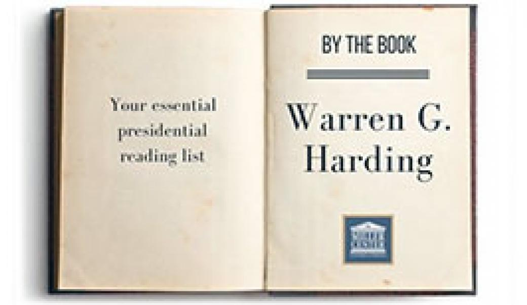 By the book: Warren G. Harding