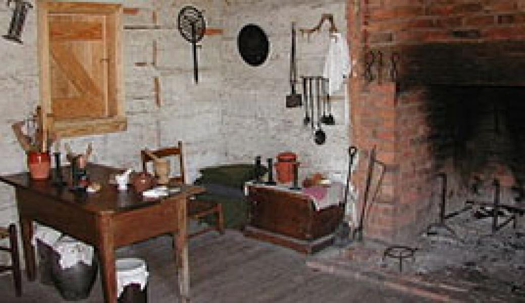 Cabin room of James K. Polk