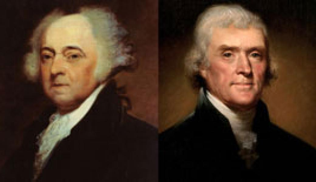 John Adams and Thomas Jefferson