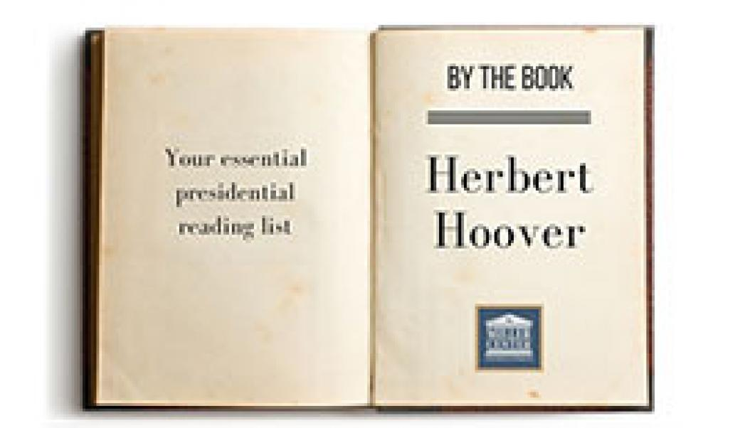 By the book: Herbert Hoover