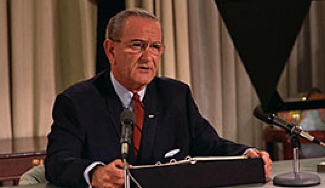 an essay on lyndon b johnson and his administration