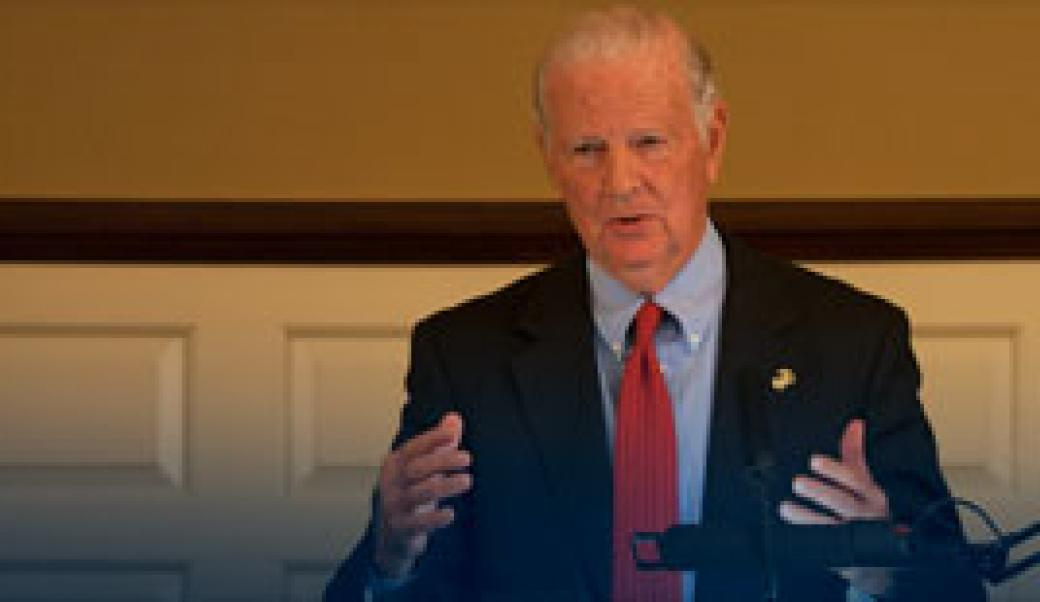 James Baker at the Miller Center