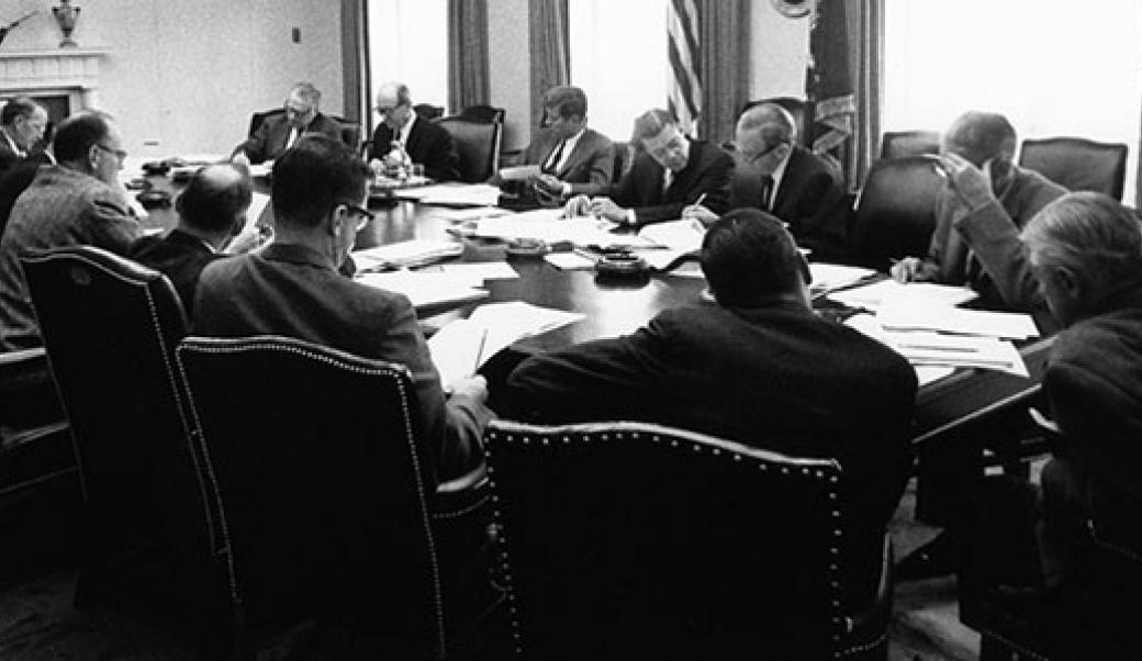 Kennedy administration meeting