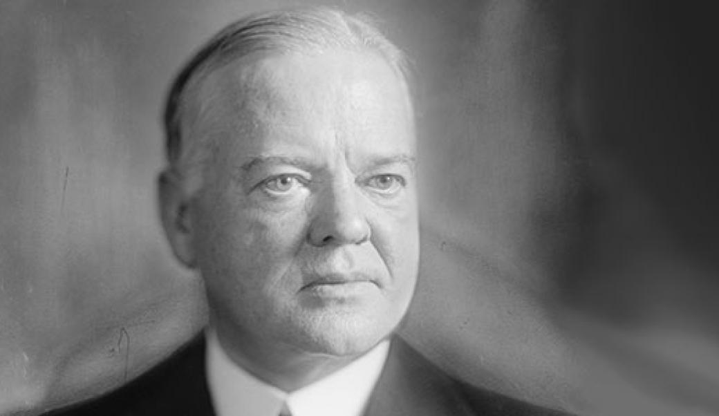 herbert hoover The role of herbert hoover in the history of the united states of america.