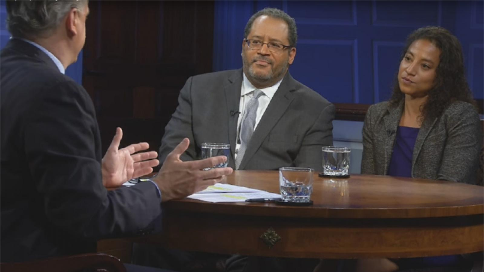 Michael Eric Dyson and Elizabeth Hinton