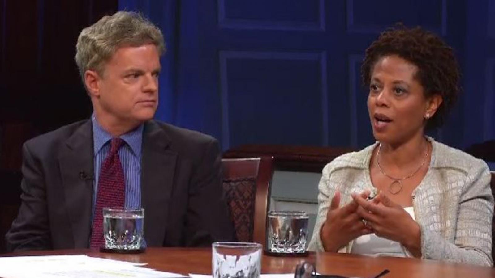 John Bridgeland and Melody Barnes